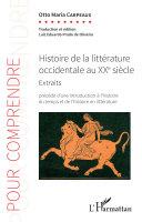 Pdf Histoire de la littérature occidentale au XXe siècle Telecharger