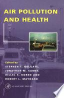 Air Pollution and Health Book