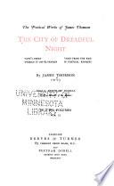 The City of Dreadful Night Book PDF