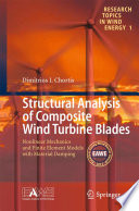 Structural Analysis of Composite Wind Turbine Blades Book