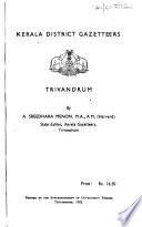 Kerala District Gazetteers: Palghat