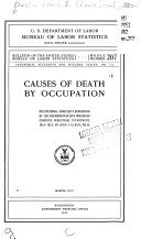 Causes of Death by Occupation