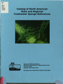 Catalog Of North American State And Regional Freshwater Sponge References Book PDF
