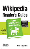Wikipedia Reader s Guide  The Missing Manual