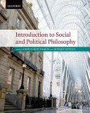 Introduction to Social and Political Philososphy Book