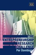 The Entrepreneurship Research Challenge