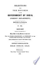 Report Showing the Relations of the British Government with the Tribes, Independent and Dependent, on the North-west Frontier of the Punjab, from Annexation in 1849 to the Close of 1855 ; District Memorandum