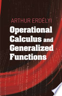 Operational Calculus and Generalized Functions