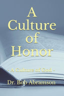 A Culture of Honor Book
