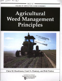 Agricultural Weed Management Principles Book