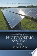 Modeling of Photovoltaic Systems Using MATLAB