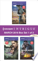 Harlequin Intrigue March 2016 Box Set 1 Of 2