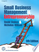 """Small Business Management and Entrepreneurship"" by David Stokes, Nicholas Wilson"
