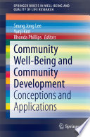 Community Well-Being and Community Development