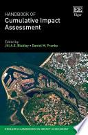 Handbook of Cumulative Impact Assessment