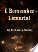 I Remember Lemuria Book PDF