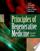 Principles of Regenerative Medicine Book