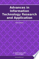 Advances in Information Technology Research and Application  2011 Edition Book