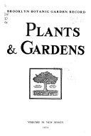 Brooklyn Botanic Garden Record
