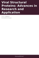 Viral Structural Proteins: Advances in Research and Application: 2011 Edition Pdf/ePub eBook