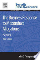 The Business Response to Misconduct Allegations