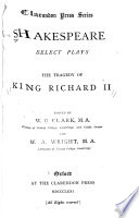 The Tragedy of King Richard II.