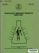 Toxicology Research Projects Directory