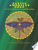 Native American Lore an Educational Coloring Book