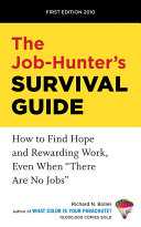 Pdf The Job-Hunter's Survival Guide Telecharger