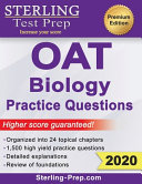 Sterling Test Prep OAT Biology Practice Questions  High Yield OAT Biology Questions