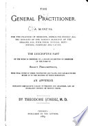 The General Practitioner  A Manual for the Practice of Medicine Book