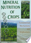 Mineral Nutrition of Crops Book
