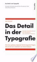 Das Detail in der Typografie