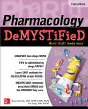 Pharmacology Demystified  Second Edition Book