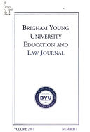 Brigham Young University Education and Law Journal