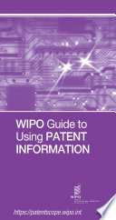 WIPO Guide to Using Patent Information