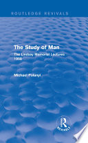 The Study of Man (Routledge Revivals)