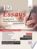 121 Essays for IAS/ PCS & other Competitive Exams 2nd Edition