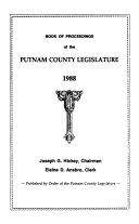 Book of Proceedings of the Putnam County Legislature