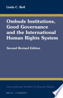 Ombuds Institutions, Good Governance and the International Human Rights System