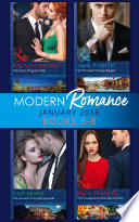 Modern Romance Collection January Books 5 8 Martinez S Pregnant Wife His Merciless Marriage Bargain The Innocent S One Night Surrender The Consequence She Cannot Deny