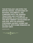 The Mythology and Rites of the British Druids, Ascertained by National Documents