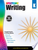 Spectrum Writing Grade K