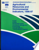 Agricultural Resources And Environmental Indicators Agriculture Handbook No 712 1996 97