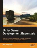 Pdf Unity Game Development Essentials Telecharger