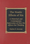 Pdf The Noetic Effects of Sin