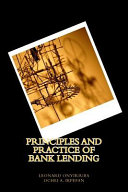 Principles and Practice of Bank Lending