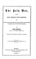 The Holy War  etc  With engravings