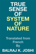 True Sense of System of Nature