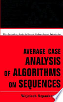 Average Case Analysis Of Algorithms On Sequences